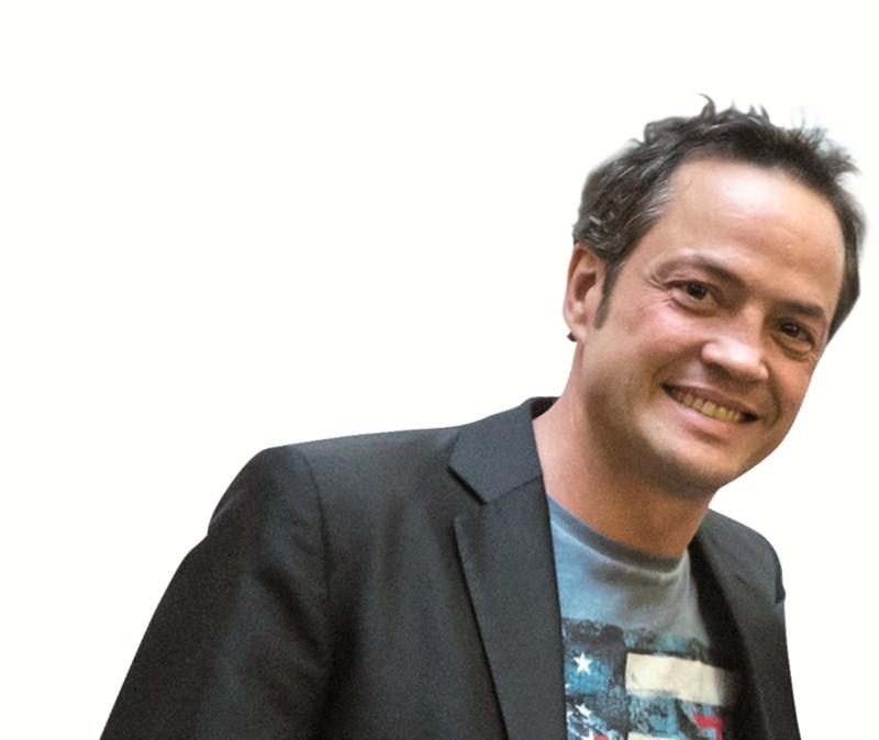 Javier Torres, cocinero de dos cielos. / ANDRÉS GUTIÉRREZ - JAVIER