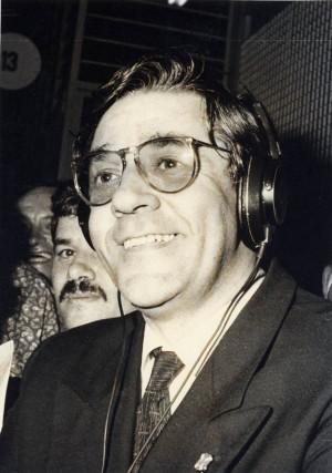 El coloquio de hoy trata sobre la relación de Pérez con los medios de comunicación. | DA