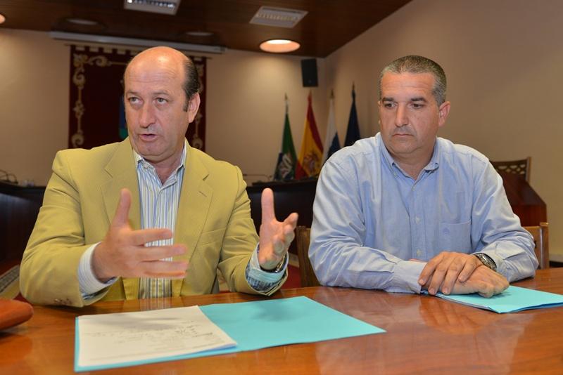 Jose Francisco Perez y Pedro Garcia lucha el hierro