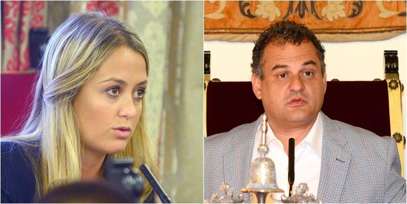 Teresa Berástegui y José Alberto Díaz. / SERGIO MÉNDEZ