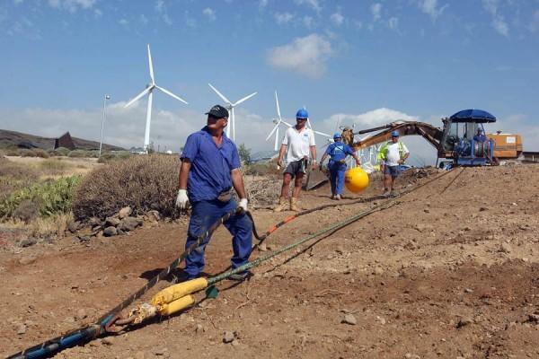 La red terrestre conecta con el NAP y el cable submarino, conformando el denominado proyecto Alix. | DA