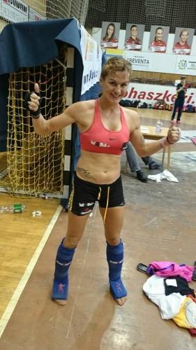 Mar Rodríguez, tras ganar la final. | DA