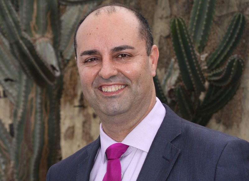 Marcos González, presidente del PP en Granadilla de Abona. / DA