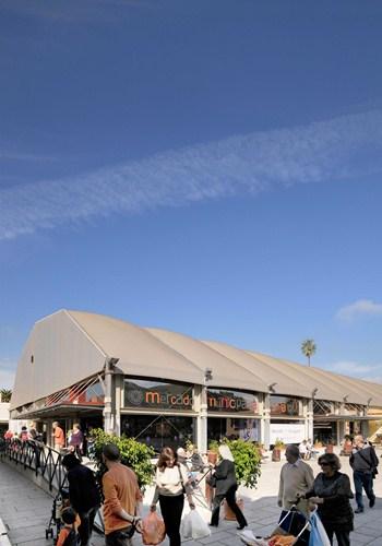 El Mercado está ubicado en la actualidad en la plaza del Cristo, desde el año 2007. / DA