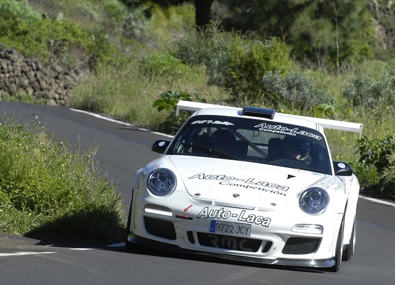 Miguel Fuster (Porsche 997 GT3 Cup Rally 2010)  Rally La Palma