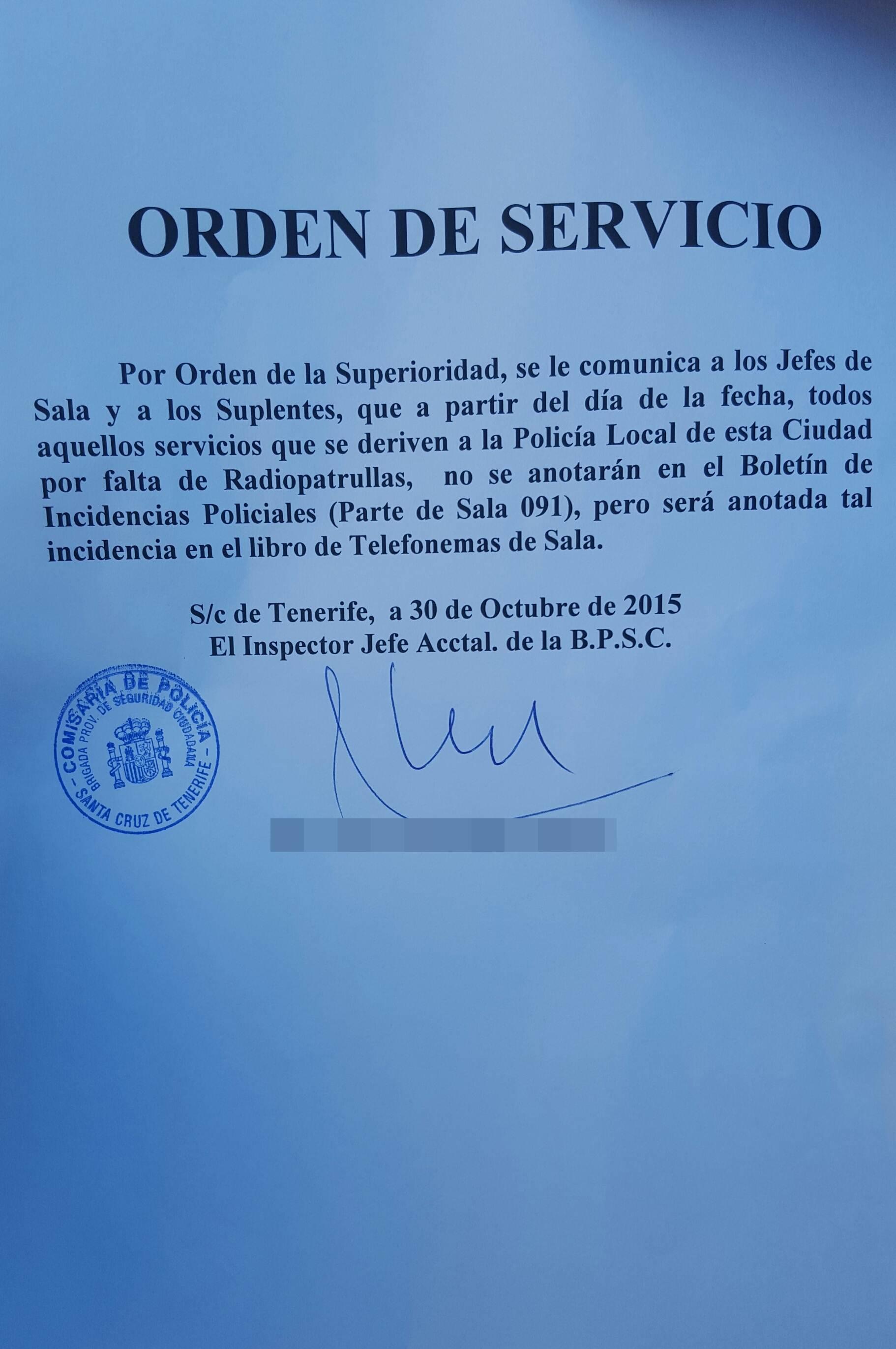 El cnp oculta el creciente desv o de servicios del 091 a for Sala 091 madrid