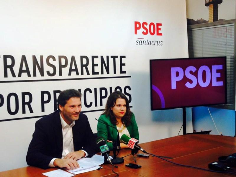 José Ángel Martín y Elena Mateo, ayer, en rueda de prensa. / DA