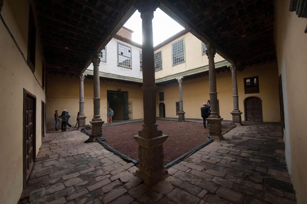 Jornadas de puertas abiertas en el Palacio de Nava. | FRAN PALLERO