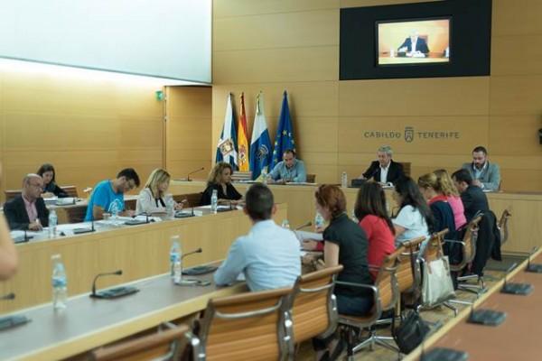 Aurelio Abreu presidió el Pleno en el que se constituyó el Consejo insular de Vivienda. | DA