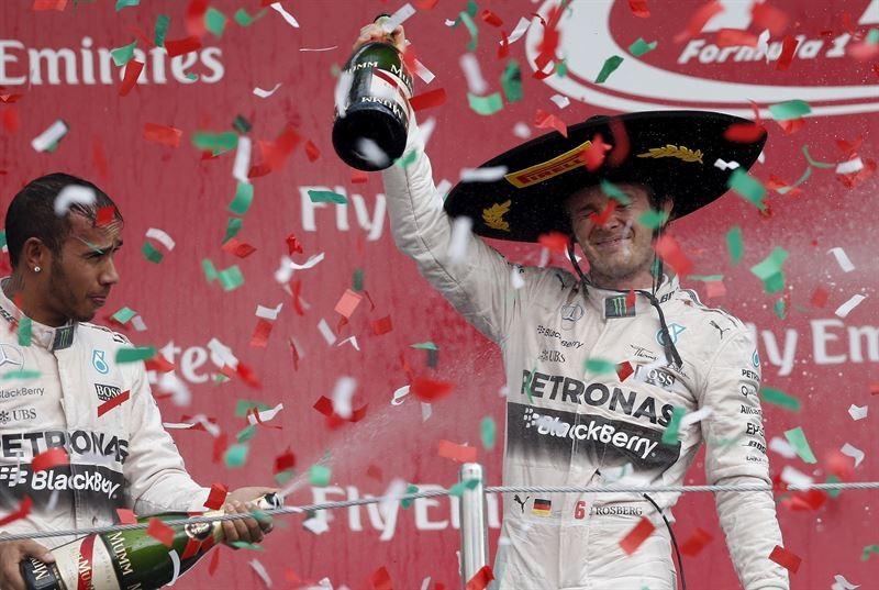 Nico Rosberg GP Mexico