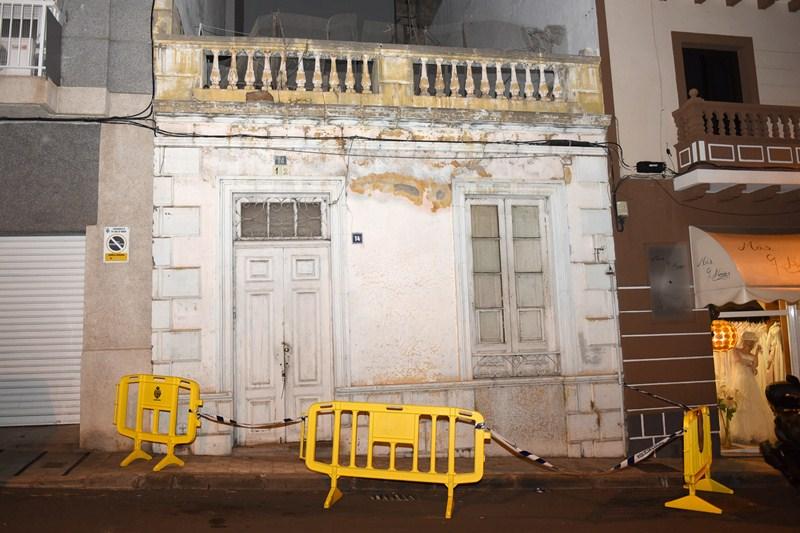La casa ubicada en la calle de El Perdón será tapiada. / SERGIO MÉNDEZ