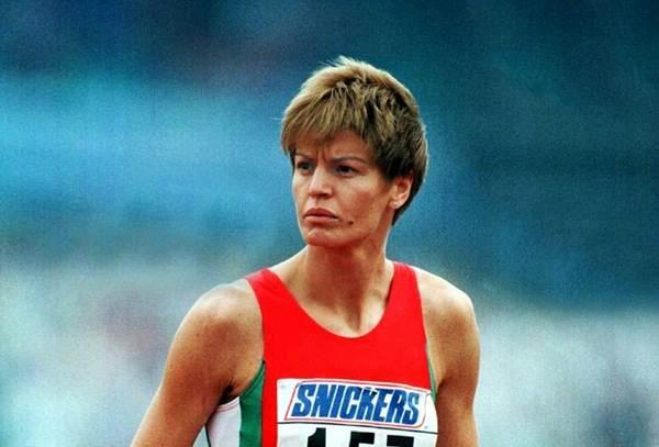 S. Kostadinova Prueba: Altura Registro: 2,09 metros Fecha: 30 agosto 1987 Lugar: Mundial de Roma