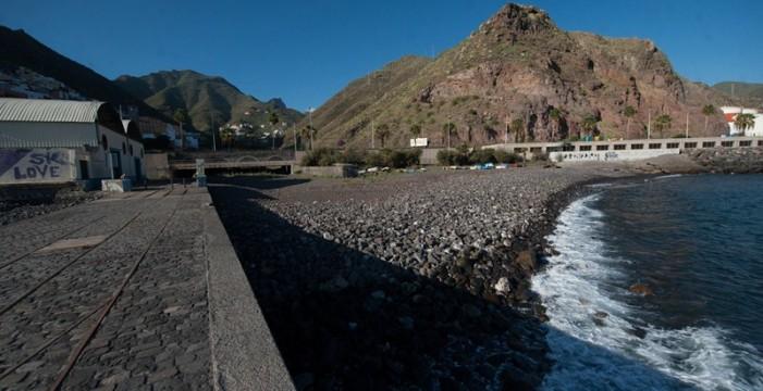 El Cabildo aportará fondos propios a la mejora de la playa de Valleseco