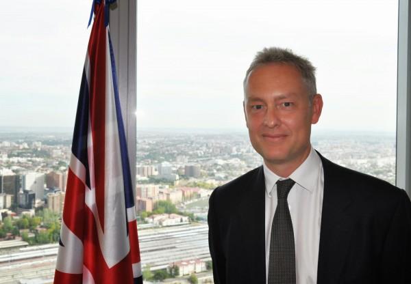 Simon Manley, embajador del Reino Unido en España. | CEDIDA