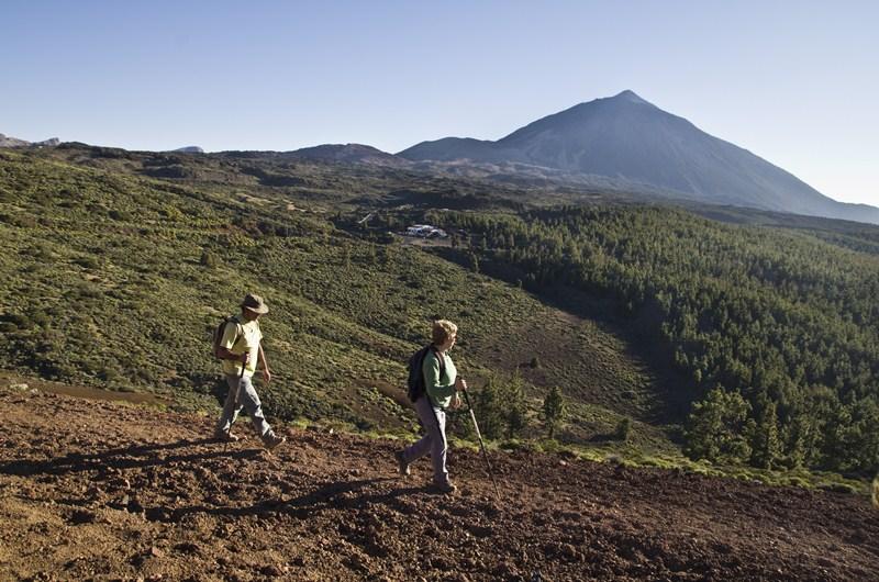 Cada uno de los turistas que practicó senderismo gastó durante sus vacaciones más de 1.000 euros. / AIRAM VERA