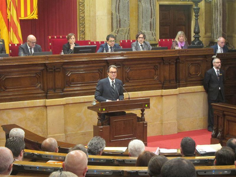 El candidato a la presidencia de la Generalitat, Artur Mas. / EUROPA PRESS