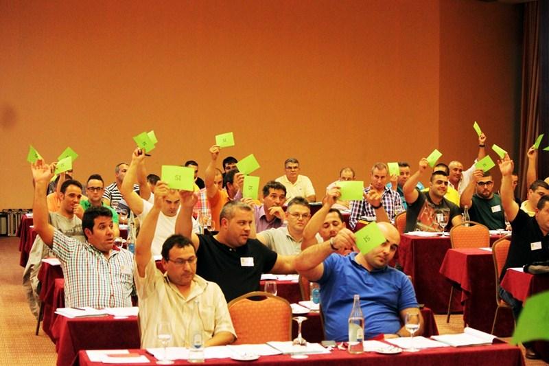 Una imagen de archivo de la reunión celebrada en la pasada temporada. / DA