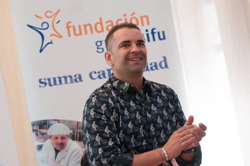 Layola visitó Tenerife gracias a GAES y Fundación Grupo SIFU. / FRAN PALLERO