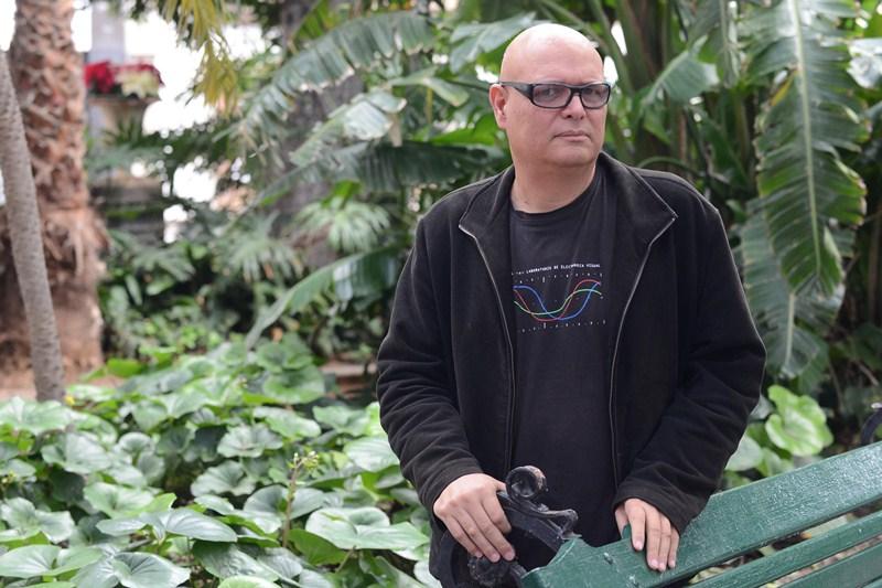 Néstor Torrens, director del Festival Keroxen. / SERGIO MÉNDEZ