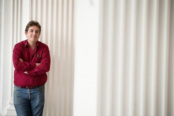 Luis García Montero, poeta y miembro fundador de Izquierda Unida. / ANDRÉS GUTIÉRREZ