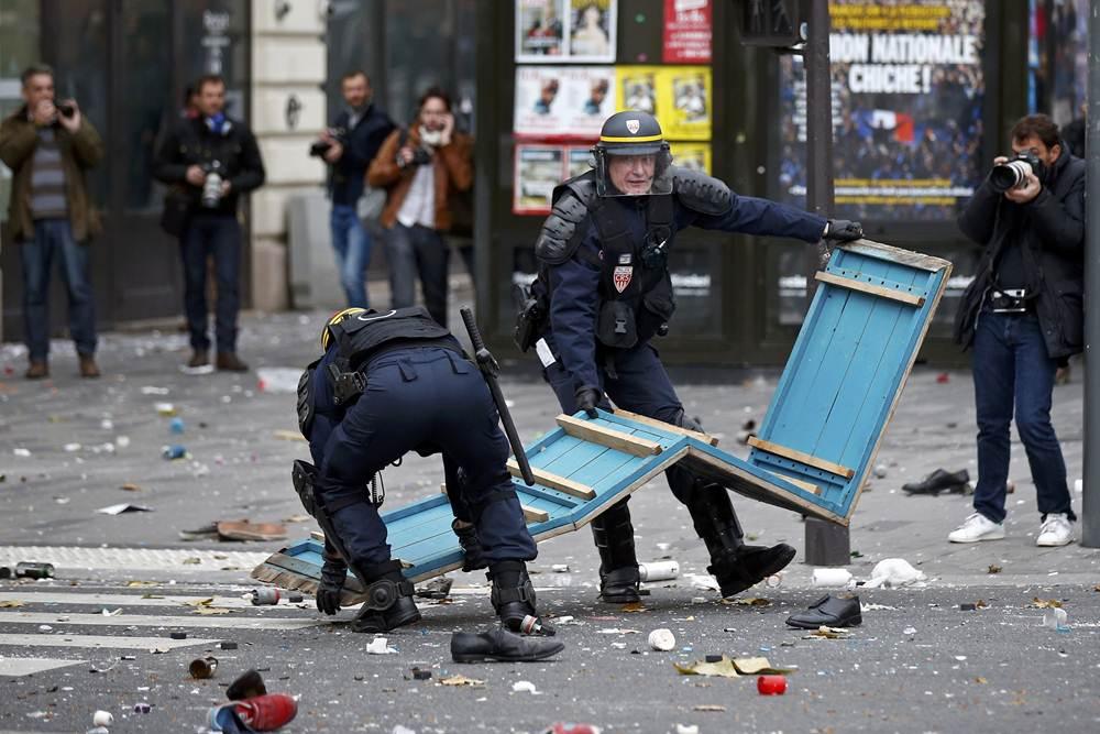 Disturbios en París por la Cumbre del Clima. | REUTERS