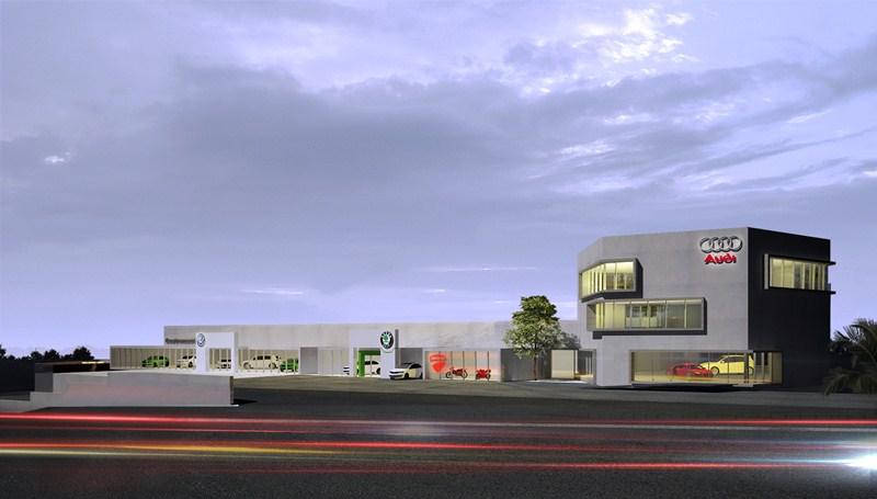 Las obras en las nuevas instalaciones ubicadas en Los Majuelos finalizarán en el verano de 2016. / DA