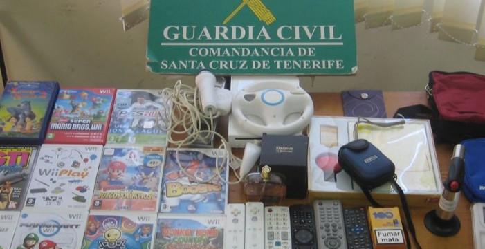 Detienen a cuatro jóvenes por varios robos cometidos en Abades