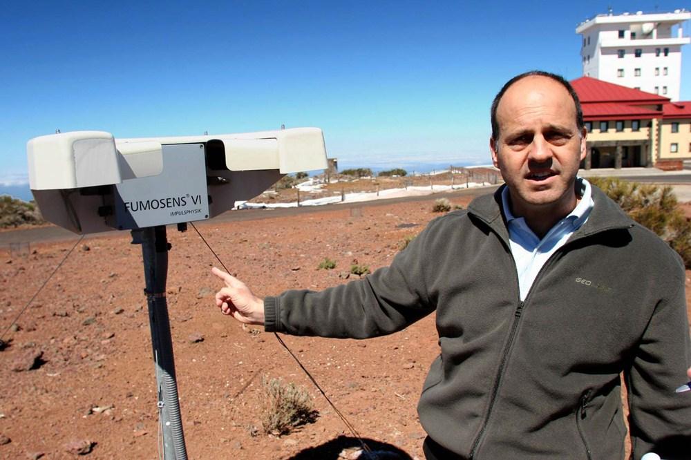 Emilio Cuevas, director del Centro de Investigación Atmosférica de Izaña. / FOTO: JAVIER COROMINAS