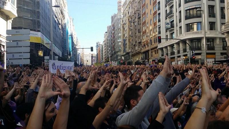 MANIFESTACIÓN MADRID 7N