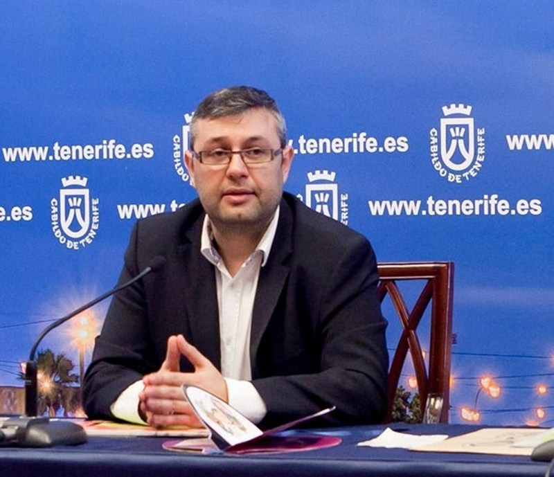 El consejero insular de Planificación, Miguel Ángel Pérez. / DA
