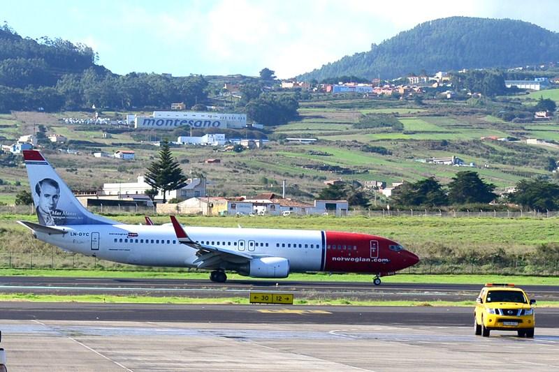 En total, Tenerife tiene casi 50 conexiones con los países nórdicos. / S. M.