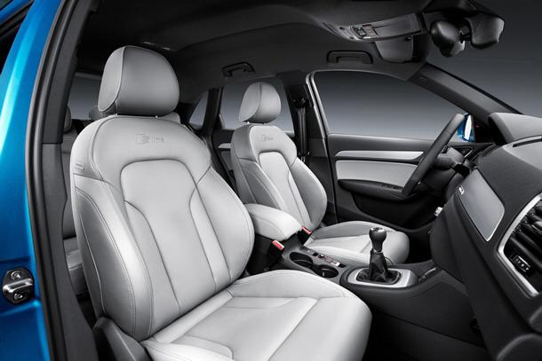 La oferta de motores para el Audi Q3 está compuesta por tres TFSI y dos TDI clean diesel, todos ellos de cuatro cilindros. / DA