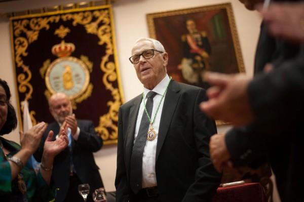 Martín Chirino recibe la Medalla de las Bellas Artes. / FRAN PALLERO
