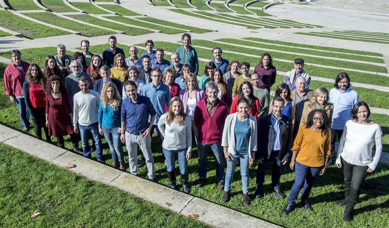 Candidatos de Podemos para las elecciones generales./ DANI GAGO - PODEMOS