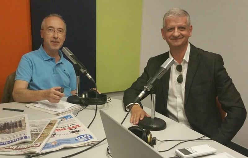 Francisco Linares, entrevistado por Carmelo Martín. / DA
