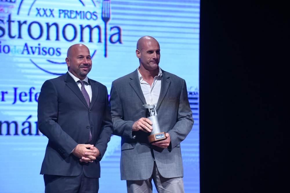 premio mejor jefe de cocina Germán Blanco, propietario de #LaTegala y asesor de BlueFinn y elcorteingles