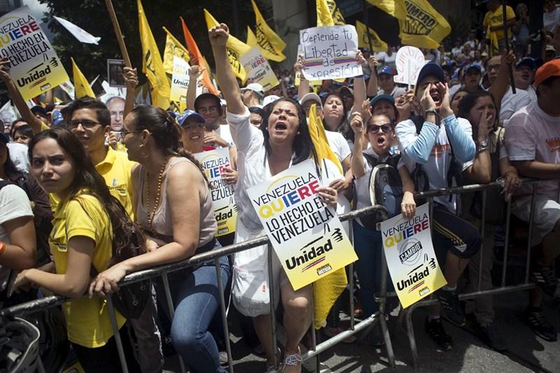 El asesinato en Guárico del político de la MUD ha elevado todavía más la tensión de la campaña electoral que vive Venezuela. / DA