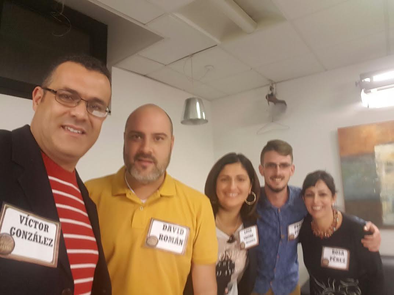 La alcaldesa, tres concejales y el asesor Víctor González en Tele5