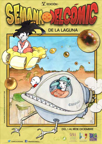 Cartel oficial de la Semana del Cómica de La Laguna. | CEDIDA