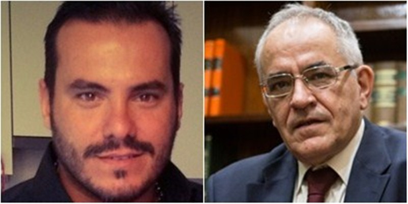 Rubén Fontes (izq) y Daniel Cerdán (der) / DA