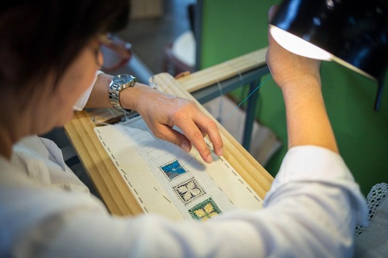Cerca de 80 de los participantes son artesanos procedentes de otras islas. / A. G.