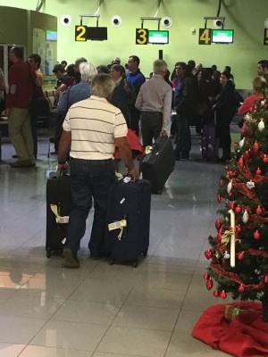 El aeropuerto herreño es uno de los más afectados. | diarioelhierro.com