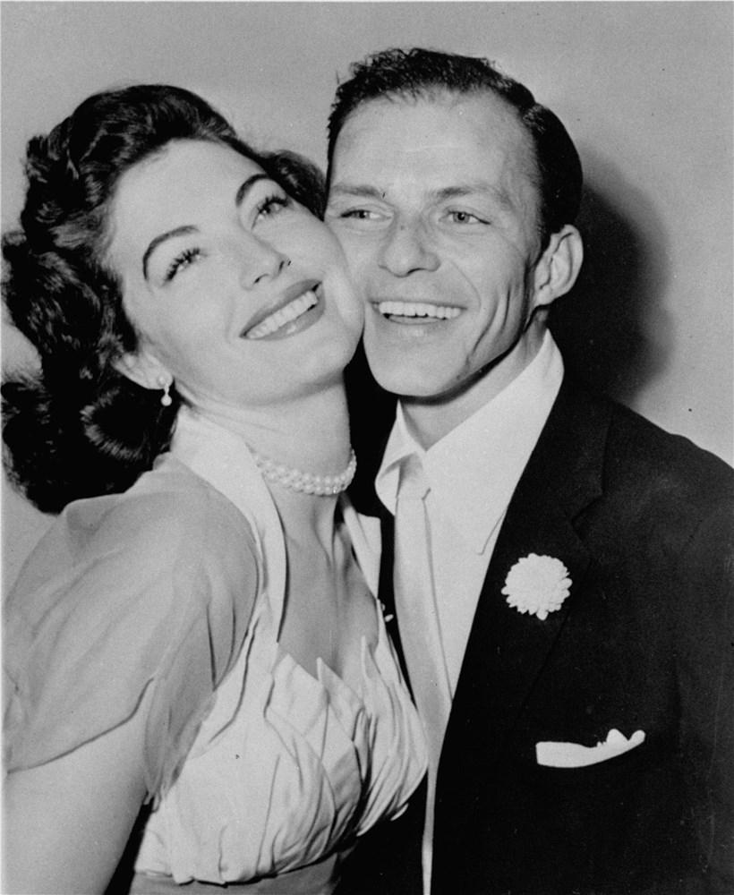 Ava Gardner y Frank Sinatra.