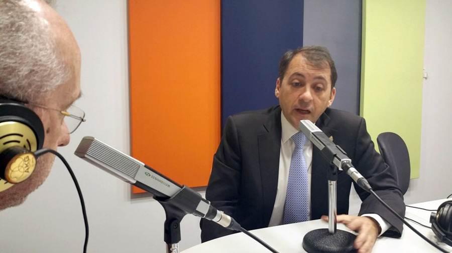 José Manuel Bermúdez, durante su entrevista en 'Viva la radio'. | DA