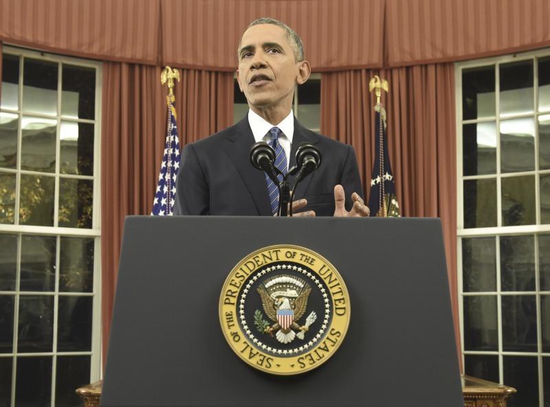 Barack Obama, durante su discurso. / REUTERS