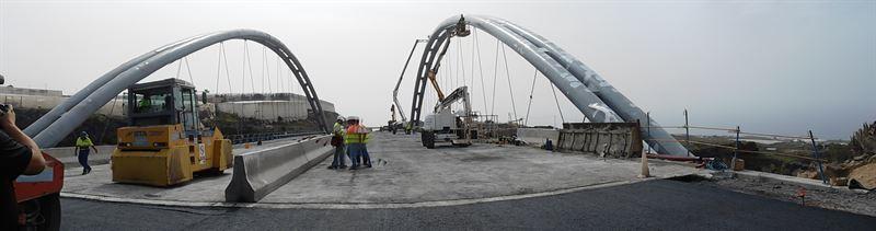 Como vía alternativa los automovilistas podrán tomar la carretera de Tejina a Piedra Hincada. / FOTO: EP