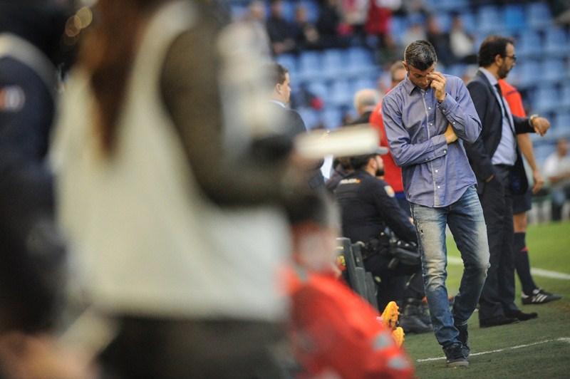 José Luis Martí, entrenador del CD Tenerife. / ANDRÉS GUTIÉRREZ