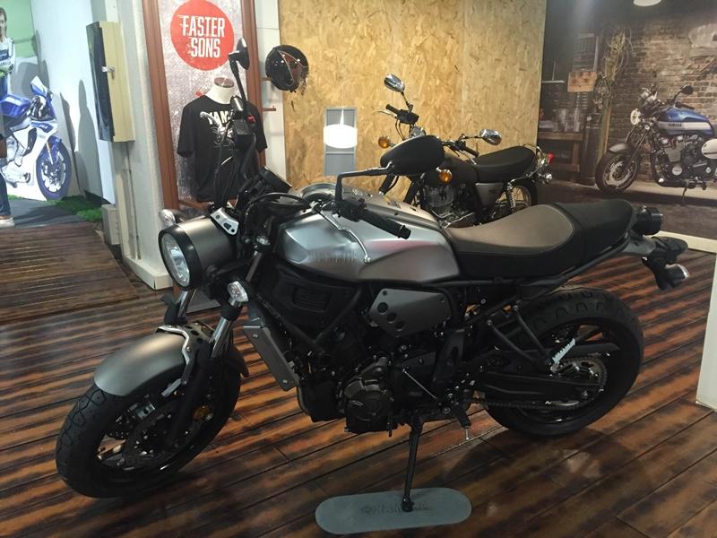 DMotos Yamaha XSR 700