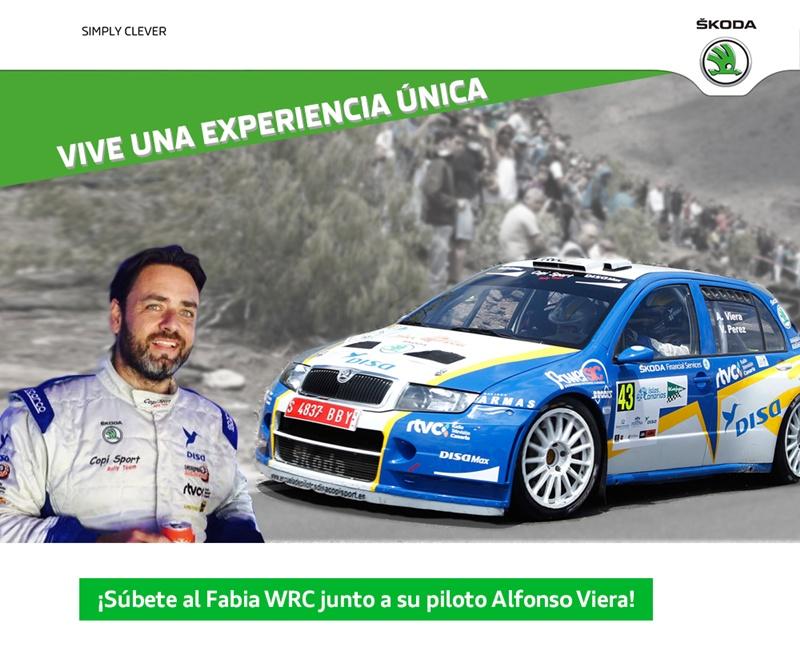 Alfonso Viera Skoda Fabia WRC