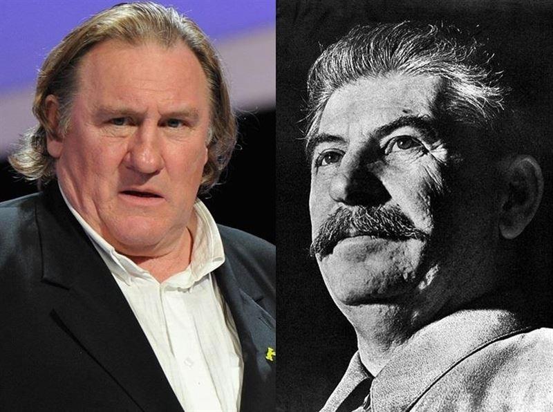 Gerard Depardieu y Stalin
